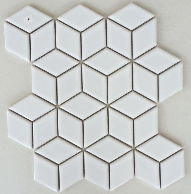 Rubix White Gloss Jerry And The Tilemakers